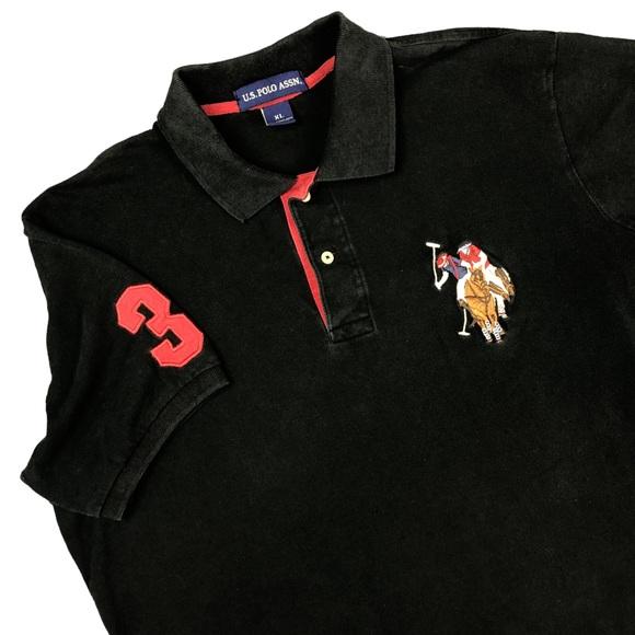 57e47a517 U.S. Polo Assn. Shirts | Vintage Us Polo Association 3 Big Pony ...